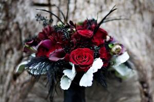 black feather bouquet2