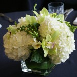 tropical-hydrangea-centerpiece