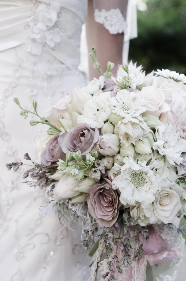 soft vintage bridal bouquet by Anastasia Ehlers | photo by Amy Rollo