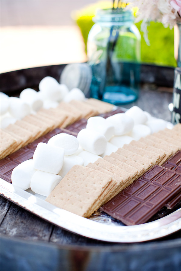 s'more bar! | photo by Erika Nicole