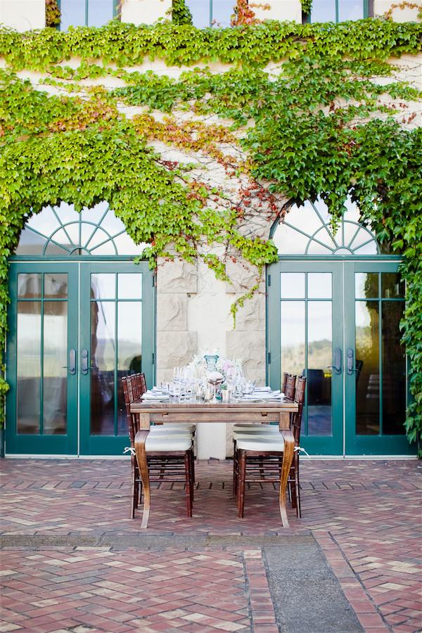 King Estate's gorgeous patio | photo by Erika Nicole