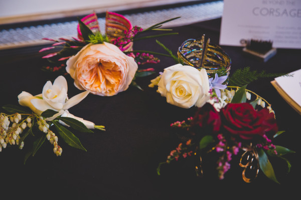 prom corsages by Anastasia Ehlers | photo by Cat Dossett